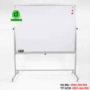 Bảng trắng 2 mặt được dùng nhiều trong các hoạt động giảng dạy, đào tạo, chia sẻ kiến thức