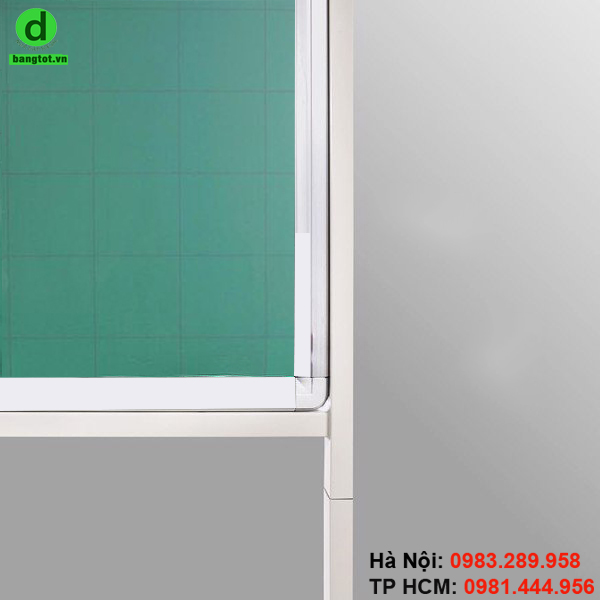 Khung di động kết nối với mặt bảng bằng các ốc vít