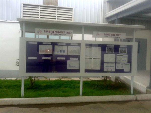 Bảng thông tin nhà máy