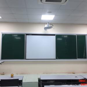 Bảng trượt ngang 2 lớp
