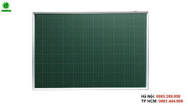 Bảng viết phấn kẻ ô ly dùng cho các trường tiểu học