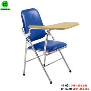 Ghế gấp liền bàn chân sắt sơn tĩnh điện