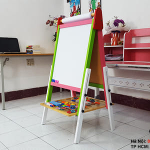 Giá vẽ 2 mặt cho bé