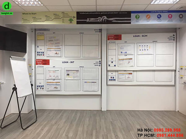 Lắp đặt bảng cột công ty ABB KCN Tiên Sơn, Bắc Ninh