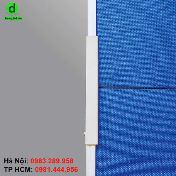 Mặt bảng là lớp vải nỉ nhập khẩu từ Đài Loan