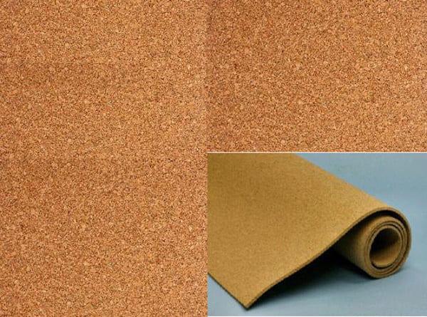 Tấm gỗ bần làm bảng ghim bần