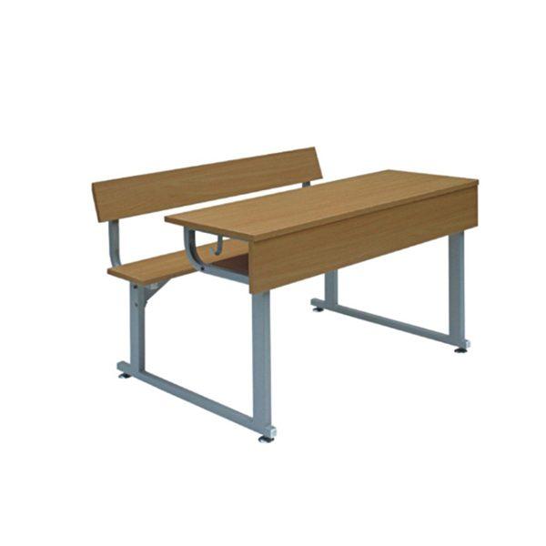 Bàn ghế học sinh liền bàn