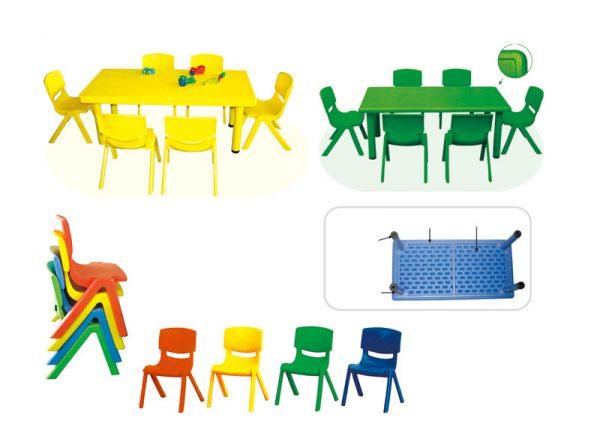 Bàn ghế nhựa cho bé từ 2-6 tuổi