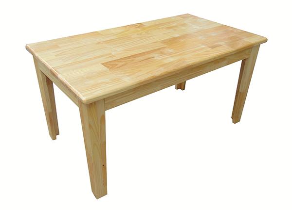 Bàn gỗ mầm non hình chữ nhật