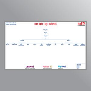 Bảng sơ đồ hội đồng điều dưỡng