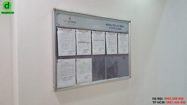 Bảng thông báo cho chung cư
