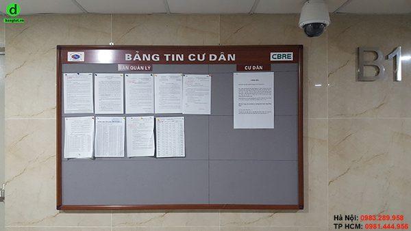 Bảng thông báo tòa nhà