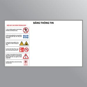 Bảng thông tin an toàn kho