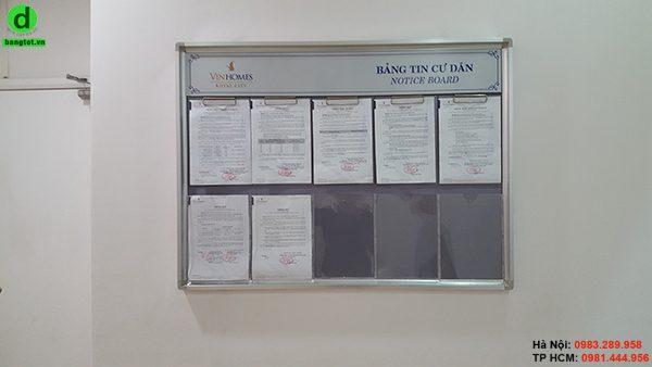 Bảng tin cư dân cho tòa nhà, chung cư