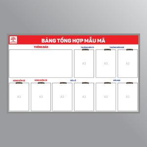 Bảng tổng hợp mẫu mã