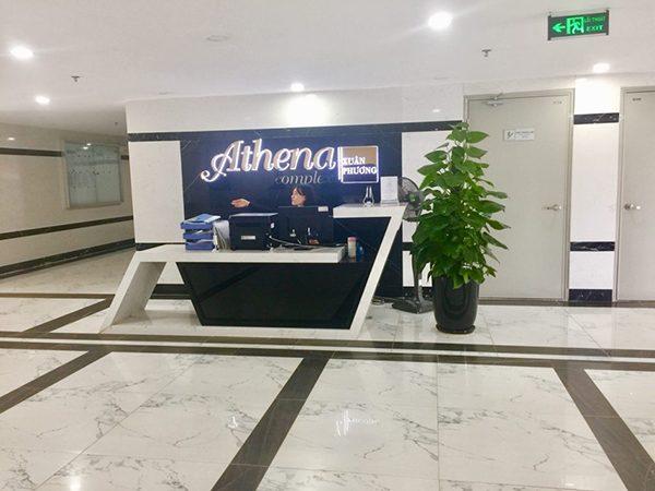 Bảng thông tin chung cư Athena Complex Xuân Phương