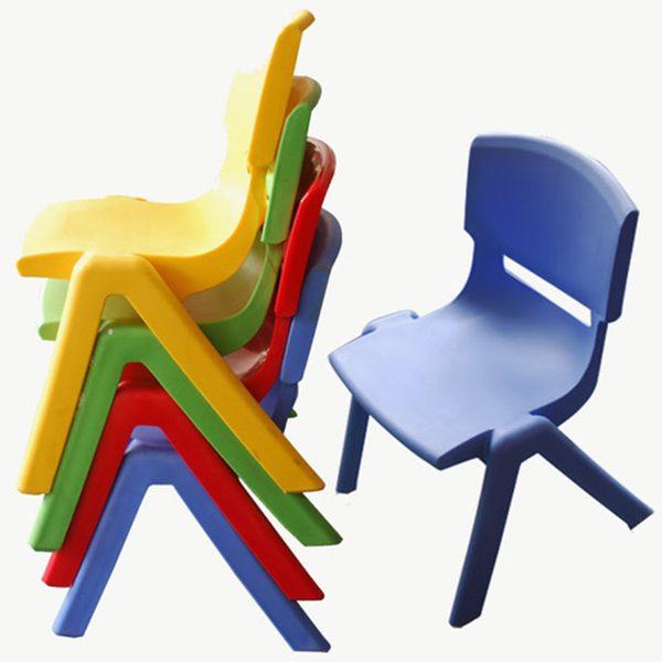 Ghế mầm non bằng nhựa