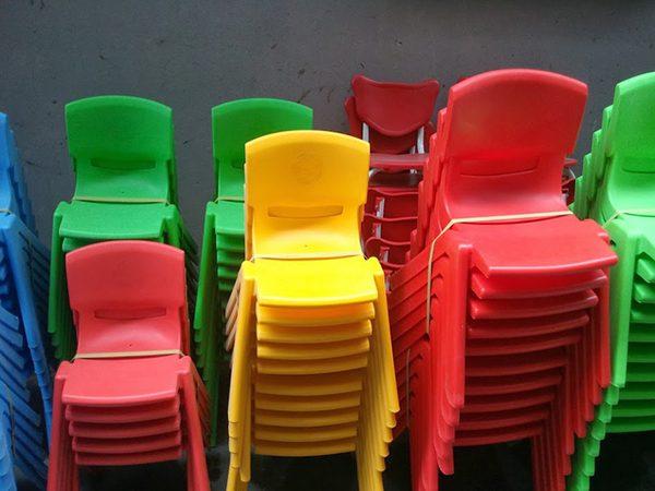 Ghế nhựa mầm non mẫu giáo