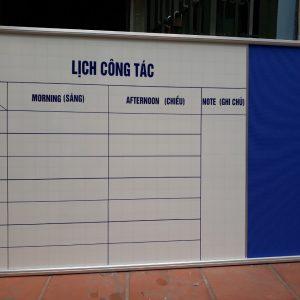 Lắp bảng combo lịch công tác