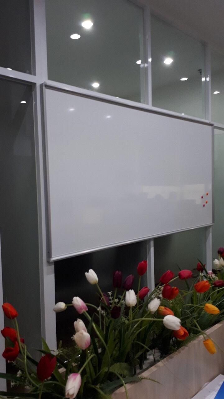 Bảng từ trắng cố định treo tường