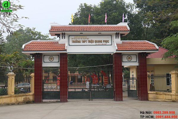 Trường THPT Triệu Quang Phục