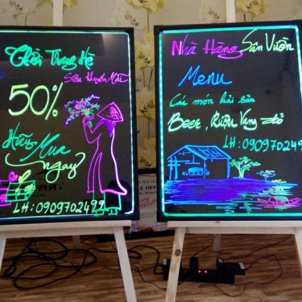 bảng đèn led huỳnh quang giá rẻ
