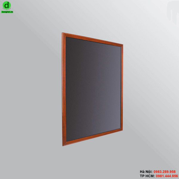 Bảng menu 1 mặt