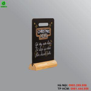 Bảng menu để bàn Comfor
