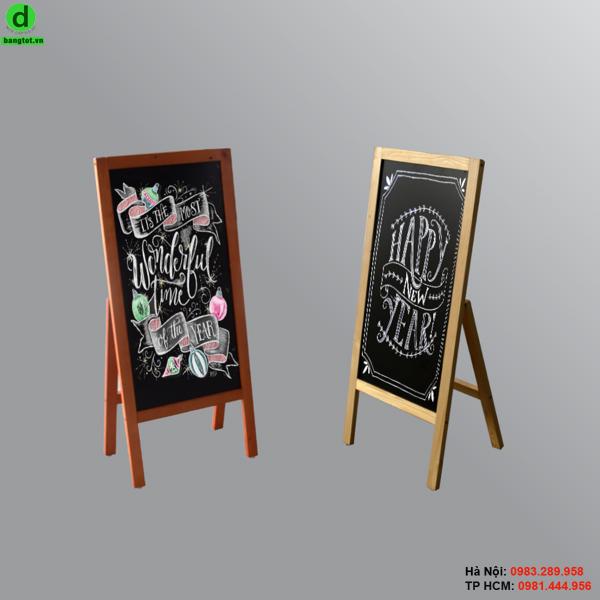 Bảng menu đứng 1 mặt