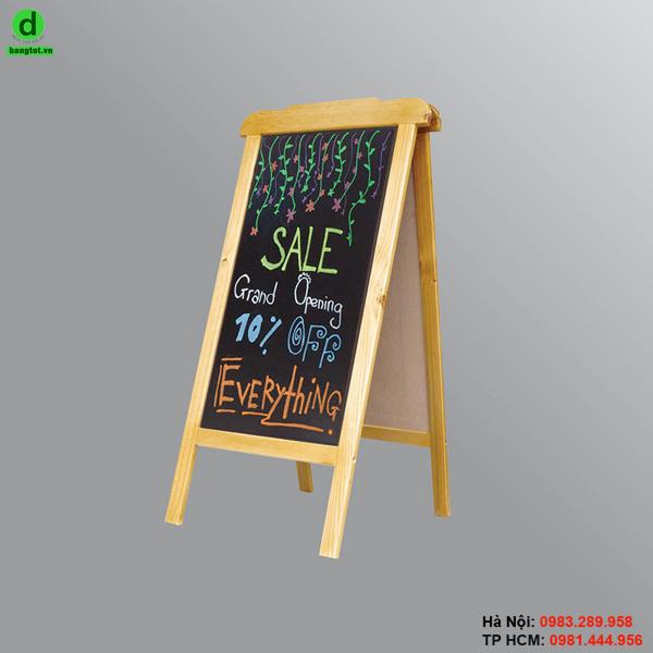 Bảng menu gỗ đứng Jaja