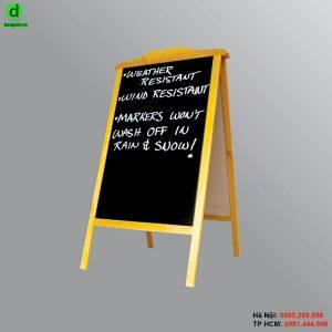 Bảng menu gỗ đứng Itala