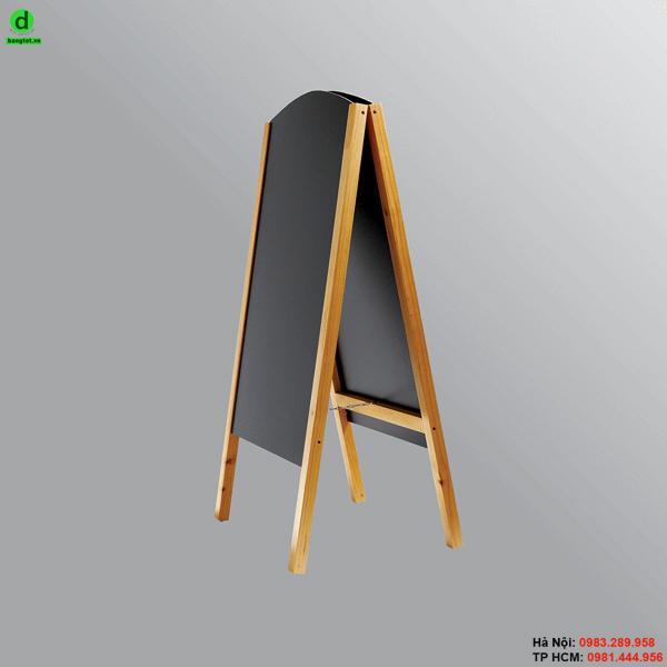 Bảng menu gỗ đứng