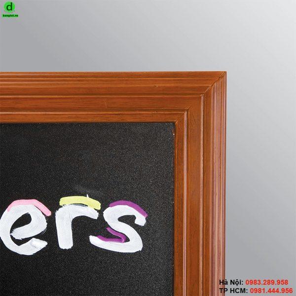 Bảng menu nhà hàng khung gỗ