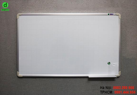 Bảng trắng viết bút dạ khung nhỏ cao cấp