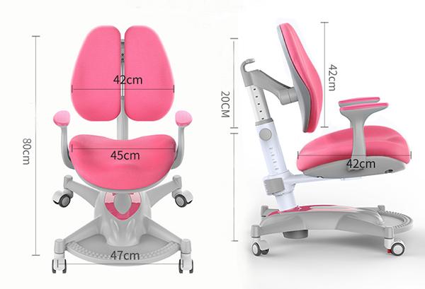 Kích thước ghế chống gù