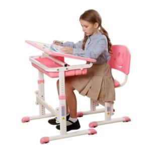 Bàn ghế học tập tốt cần đảm bảo sự thoải mái cho bé