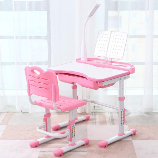 Bàn ghế Q8 plus hồng