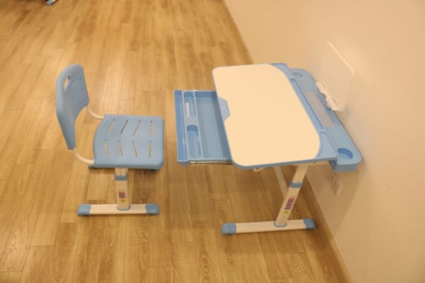 bàn ghế vdta7 xanh