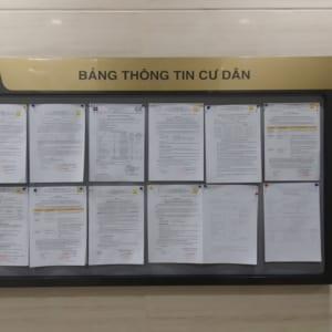 Bảng thông tin cư dân tòa nhà