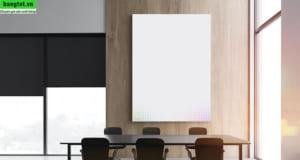 Bảng kính trắng phòng họp