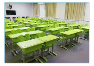 Lắp đặt bàn ghế tiểu học tại trường Lý Thái Tổ