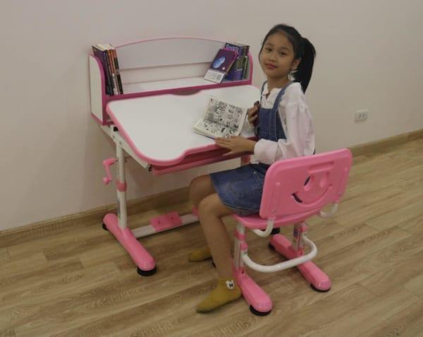 bàn ghế trẻ em vdtt8-2 hồng