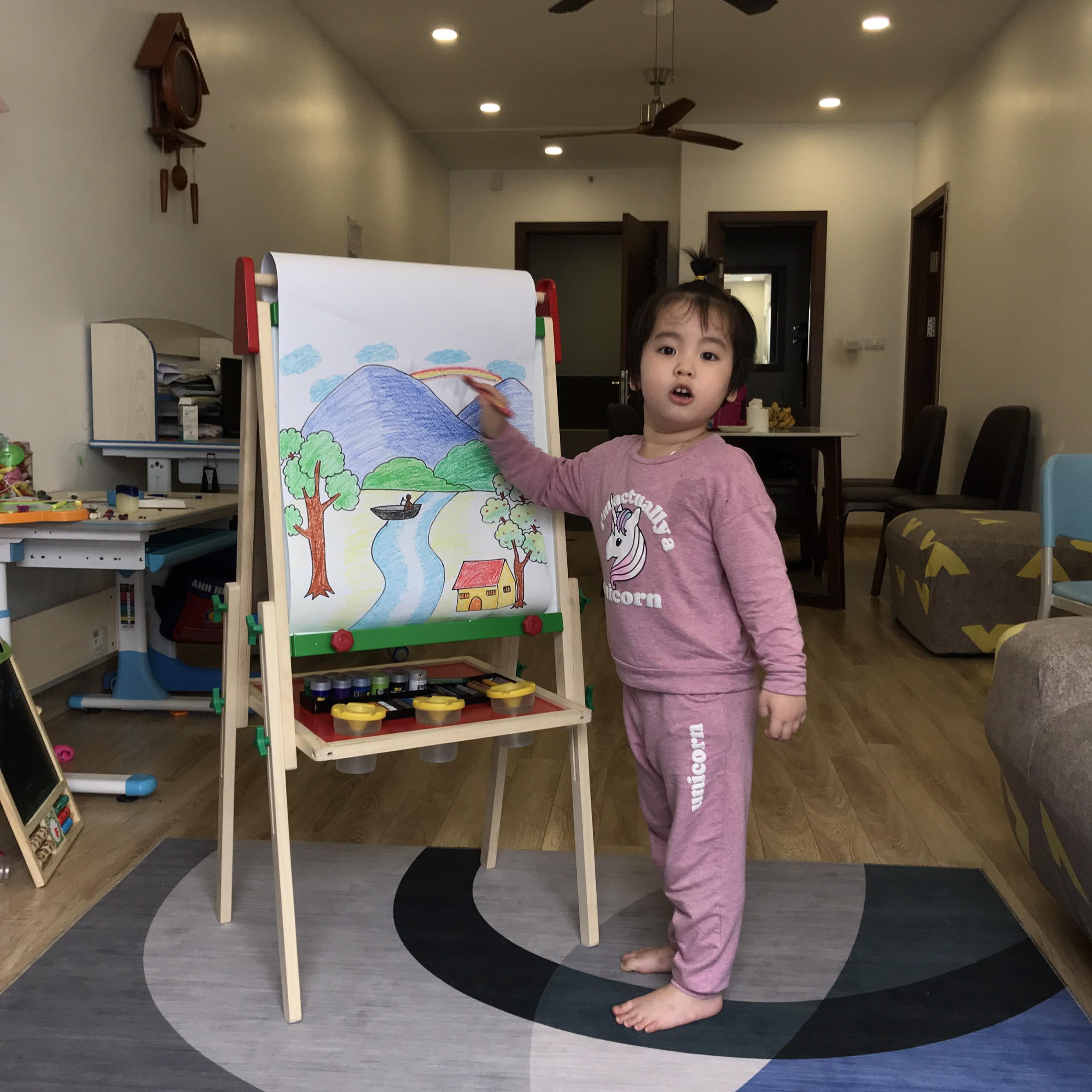 bảng giá vẽ trẻ em