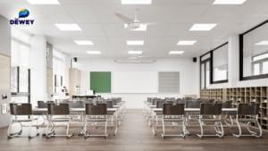 Lắp đặt bảng dạy học thông minh tại trường The Deway Schools