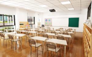 Lắp đặt bảng dạy học combo tại phòng học
